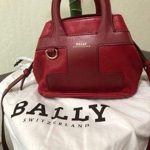 Bally leather bag